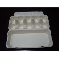 Quality Green Packaging Material Paper Pulp Egg Cartons With Customized Size And Color for sale