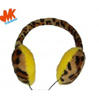Quality 3.5mm Winter Warming Fur Earmuffs Stereo Headphone For video chat or online gaming for sale