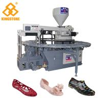 Buy cheap 20 Stations Automatic Plastic Sandals Making Machine , Rotary PVC Shoes from wholesalers