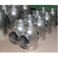 Buy High Pressure Welded Forged Stainless Steel Pipe Fitting Tee DN15 - DN1900 at wholesale prices