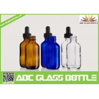 Quality 50ml Dropper Bottle,Boston Round Glass Dropper Bottles for sale