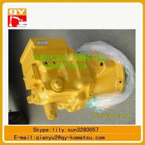 Quality Genuine and OEM komatsu pc200-7 swing motor,komatsu pc200-8 swing motor for sale