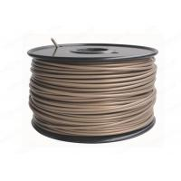 Quality 3D Printer Filament Gold , 3mm PLA Filament For 3D Printers 1KG 2.2lb / Spool for sale