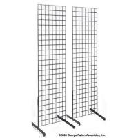 Quality Durable Gridwall Retail Display Tower , Stationery Display Racks For Hanging Items for sale