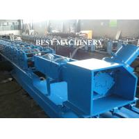 Buy Full Auto Steel Profile Frame Roll Forming Machine Hydraulic Punching at wholesale prices