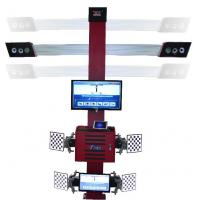 Quality Truck Tire Two Monitors Tire Alignment Machine , 3D Garage Equipment Wheel Alignment for sale
