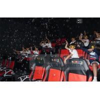Quality Crazy 6D Movie Theater , 6D Motion Simulators Experience With Many Kinds Of Special Effects for sale