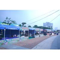 Quality Custom Printed Tent For Advertising , Folding Canopy Tent  With Accessories for sale