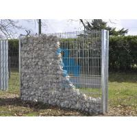 Quality Retaining Wall Gabion Cages Bunnings , Steel Material Gabion Rock Wall Cages for sale