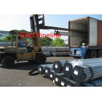 BS1387  IS 1239  ERW Steel Pipe  , HFI  Inspection Galvanized Tubing for sale