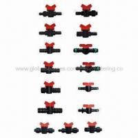 Buy cheap Drip Pipe Barb Flow Control Valve, Suitable for Poly Regulates from wholesalers