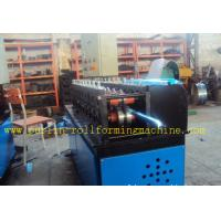 Quality Light Steel C Truss Roll Former Machine Furring Channel / Roof PLC Control for sale