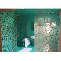 Quality Personalized Digital Printing On Glass , Never Fade Walk In Shower Glass for sale