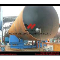 Quality Pressure Vessel Automatic Conventional Pipe Welding Rotator with PU Roller 10 Ton for sale