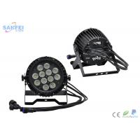 Quality LED 12pcs*10W 4 in 1 Waterproof Par Can / CREE leds / 5in1 / 6in1 Optics / 10chs for sale