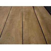 Quality Natural Burma Teak Wood Veneer Sheet Crown/Quarter Cut for sale