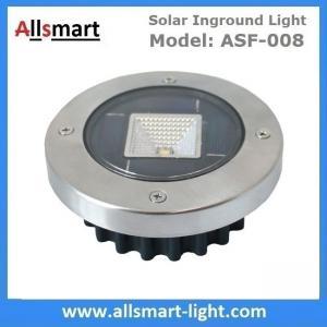 Quality Solar Ground Lights Warm Solar Inground Spotlights White Solar Underground Pathway Lights Outdoor Solar Landscape Light for sale