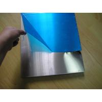 Quality Coverd Surface Alloy Precision Aluminum Plate / Sheet With Blue PVC Film Available for sale