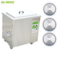 Quality Saw Blade Industrial Ultrasonic Cleaner with Hook for Saw Blades Cleaning 40khz 3600W for sale