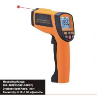 China Precise non-contact safe laser IR thermometer, Handheld infrared thermometer 200 ~ 1850℃ for sale