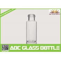 Buy 5-15ml Clear Glass Tube Bottle For Sale at wholesale prices