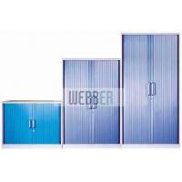 China metal office filing cabinets with roller shutter door (tambour cabinets) on sale