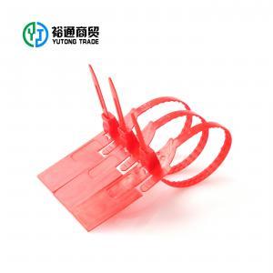 China plastic numbered locks adjustable plastic strap seals on sale