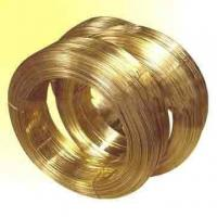 Buy brass edm wire Φ0.3mm~0.1mm     yellow   Cuzn35, Cuzn37, H62 at wholesale prices