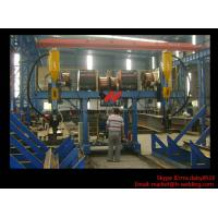 Quality H Beam Fabrication Welding Equipment / Auto Saw Welder For Flange And Web Welding Seam for sale