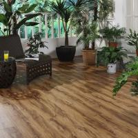 Quality Waterproof Durable Vinyl Click System Flooring With Wood Grain / Marble Grain for sale