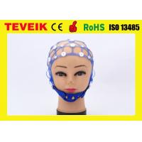 Quality Multi - Purpose Reusable  Silicone EEG Cap Support Various Of EEG Electrodes for sale