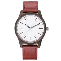 Buy cheap Minimalist leather watch, genuine leather bands changeable ,good quality watch from wholesalers