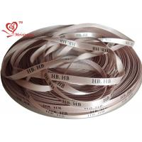 Quality 7 mm Custom Printed Ribbon for gifts Abundant printing technique Polyester Satin Ribbon for sale