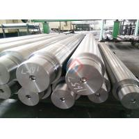 China Hardened Chrome Plated Rollers / Hydraulic Chrome Piston Rod CK45 Heating Treated for sale