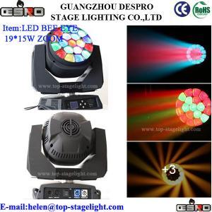Quality [Big]LED Big Eye 19pcs*15W Zoom for sale