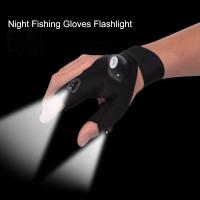 Buy cheap Gloves with LED Light Hunting Outdoor Fingerless Fishing Camping Hiking Survival from wholesalers