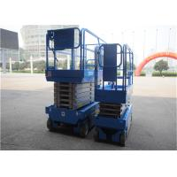 Professional Self Propelled Scissor Lift Foldable Dismountable Guardrail For Construction for sale