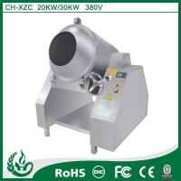 Buy cheap Stainless steel commercial induction Stir-fry drum machine from wholesalers