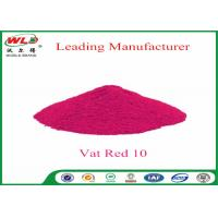 Quality Textile Dyeing Chemicals C I Vat Red 10 Vat Red Fbb Good Water Diffusion for sale