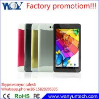 "Quality Easy Touch screen 7"" Tablet pc Android MTK6572 Dual core with 3G phone call function for sale"