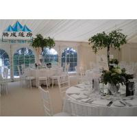 Quality 300 People Large Wedding Event Tents Fire Proof With Tables And Chairs for sale