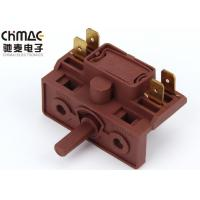 Quality 4 Brass Pins Multi Position Rotary Switch Metal Spindle For Electric Stove for sale