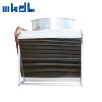 Quality Copper tube fin fan type top blow dry cooler for HVAC industry for sale