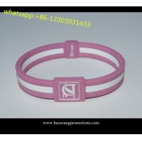Quality Factory supply Cheap silicoen bangles. Silicone Wristband give away for sale