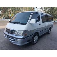 Quality 13 Seats Diesel Toyota Used Mini Bus With AC Equip No Accident 2015 Year for sale