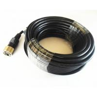Buy cheap 5M 10M 20M 30M Backup Camera Cable , 6pin Mini Din Extension Cable from wholesalers