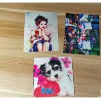 Quality OK3D professional supply flicker pictures india 3d lenticular card for sale with strong 3d depth lenticular effect for sale