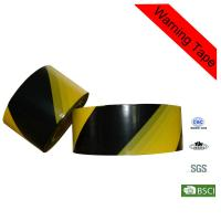Quality High - Strength 100m PE Yellow and Black Barricade Custom Caution Tape for sale