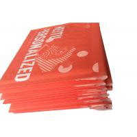Quality Red Custom Printed Kraft Bubble Mailer , Mailing Bubble  Envelopes for sale