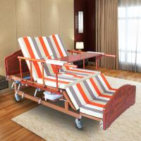 Quality Single Folding Medical Beds For Home , Hospital Style Beds Aluminum Side Rails for sale